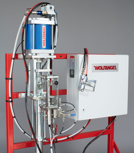 Gelcoater with External Mixing